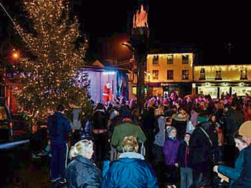 Kildare town Christmas lights ceremony on December 8 - Leinster Leader