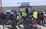 WATCH: Kildare man celebrates 80th birthday with 80km cycle