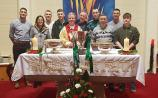 Moorefield Christmas miracle! Leinster SFC cup hoisted at Newbridge mass this morning