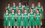 Two Kildare players on Ireland Under 16 women's basketball team in FIBA European Championships in Montenegro
