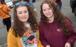 PHOTO GALLERY: Newbridge students receive their Leaving Cert results