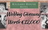 Win a FREE all-inclusive Dream Wedding worth €12k with Kildare House Hotel