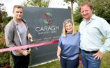 Popular rugby star Jamie Heaslip officially launches Caragh Nursery Park