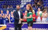WATCH: Kildare's Claire Melia named on All Star Five panel at Women's U/20 European tournament