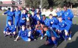 Newbridge Town U16s reach finals in Sweden