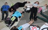 Kildare environmental activists stage protest in Whitewater Shopping Centre