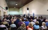 Large crowd at meeting in Monasterevin last night to hear of Blueway Potential