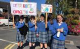 Kildare students protest inaction on climate change locally and in Dublin
