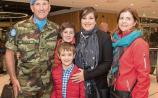 Kildare Troops big welcome home after delayed UN deployment