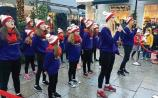 WATCH: Vicky Barry performers entertain Christmas shoppers at Kildare Village