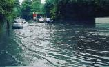 Parts of Naas are hit by flooding