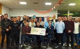 Joe Mallon Motors in Naas raises €12,000 for men's health
