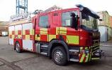 Another bogland fire is underway in west Kildare