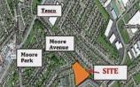 Plans for new houses at Newbridge's Millfield