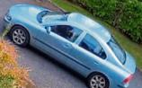 Kildare Gardai find light blue Volvo
