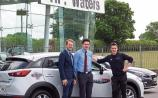 Kildare's TP Waters supports epic charity challenge