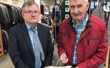 Micko gets togged out in Naas Menswear for RTE Doc