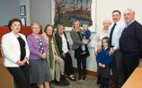 Fabulous felt work of St Brigid's well unveiled in Kildare town