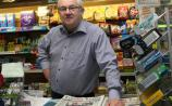 Local Leinster Leader newsagent Louis Hennessy, Kildare Town.    Photo Tony Keane.
