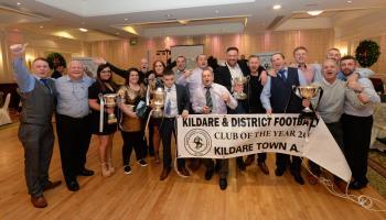 PHOTO GALLERY: Kildare & District Football League awards night