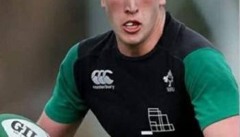Two Kildare men named on Ireland U20s team for Italian clash