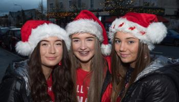PHOTOS: Christmas lights and crib launched in Newbridge