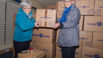 Over 17,000 Kildare shoeboxes being shipped to Malawi and Lesotho