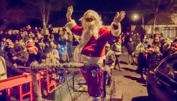 PICTURES: Santa arrives in Kill village for the turning on of the Christmas lights