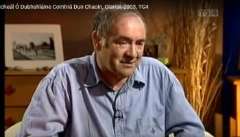 Kildare writer and historian Micheál Ó Dubhshláine to be honoured by Made of Athy