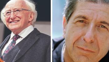 President to unveil Athy plaque to Leonard Cohen