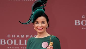 Stylish midwife scoops best dressed lady on day three of Punchestown Festival