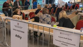 As It Stands in Kildare Local Election at Sunday lunchtime: Four more county councillors elected to Kildare County Council in #LE2019