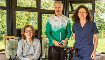 Kildare man launches Irish Motor Neurone Disease Association raffle with signed Tour de France winner jersey up for grabs