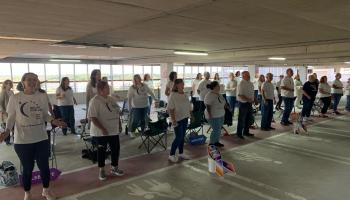 Newbridge Gospel Choir join forces with Kildare Relay for Life for drive-in show at Whitewater multi-storey car park