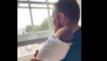Offaly golfer Shane Lowry shares adorable pic of new baby