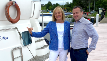 Kildare company to air new TV series with presenter Mary Kennedy