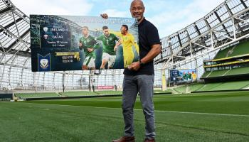 Tickets for Ireland's friendly available at special centenary prices