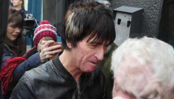 WATCH: Smyth's guitarist Johnny Marr says he never forgot his Athy roots as he is honoured in the Kildare town