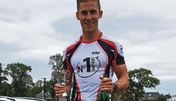 Newbridge's Conor Tiernan makes his mark in Triathlon