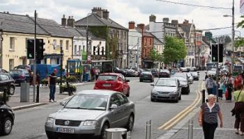 There will be less free parking in Naas at Christmas