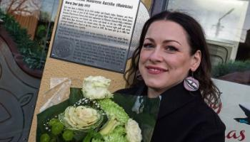 Finnish pop star Erin Anttila honoured in Athy