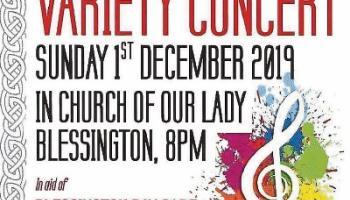 Bring a cushion to Blessington concert