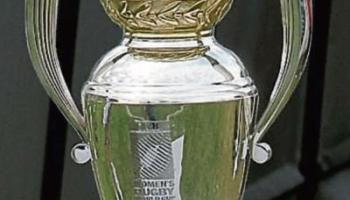 Women's World Cup Trophy visits Naas RFC