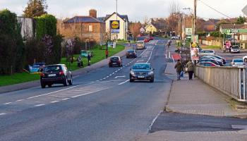 Traffic calming measures needed in Sallins