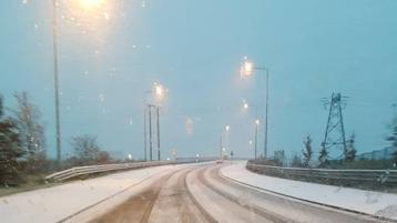 Snow in Portlaoise