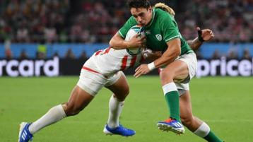 Joey Carbery fit again and ready for Samoa test