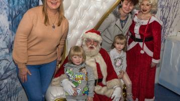 PHOTO GALLERY: Santa arrives at the Whitewater, Newbridge