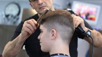 Announcement on early reopening of hairdressers and barbers expected today