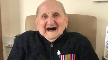 Joe Wood, Newbridge, passes away at the age of 100