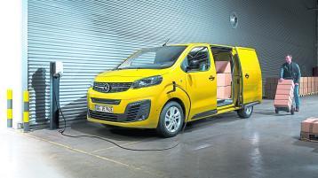 All electric Opel Vivaro-E van arrives